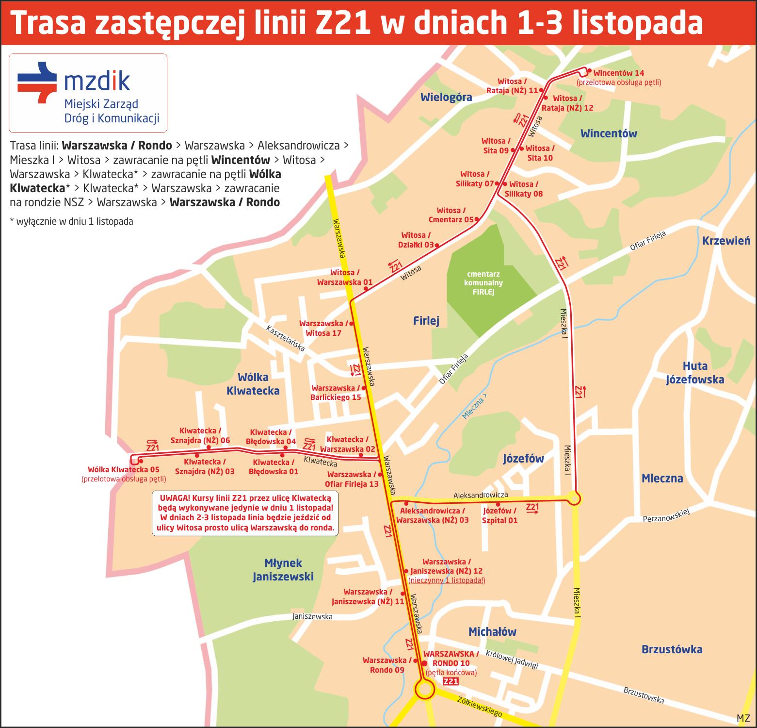 Trasa-linia-Z21-2019