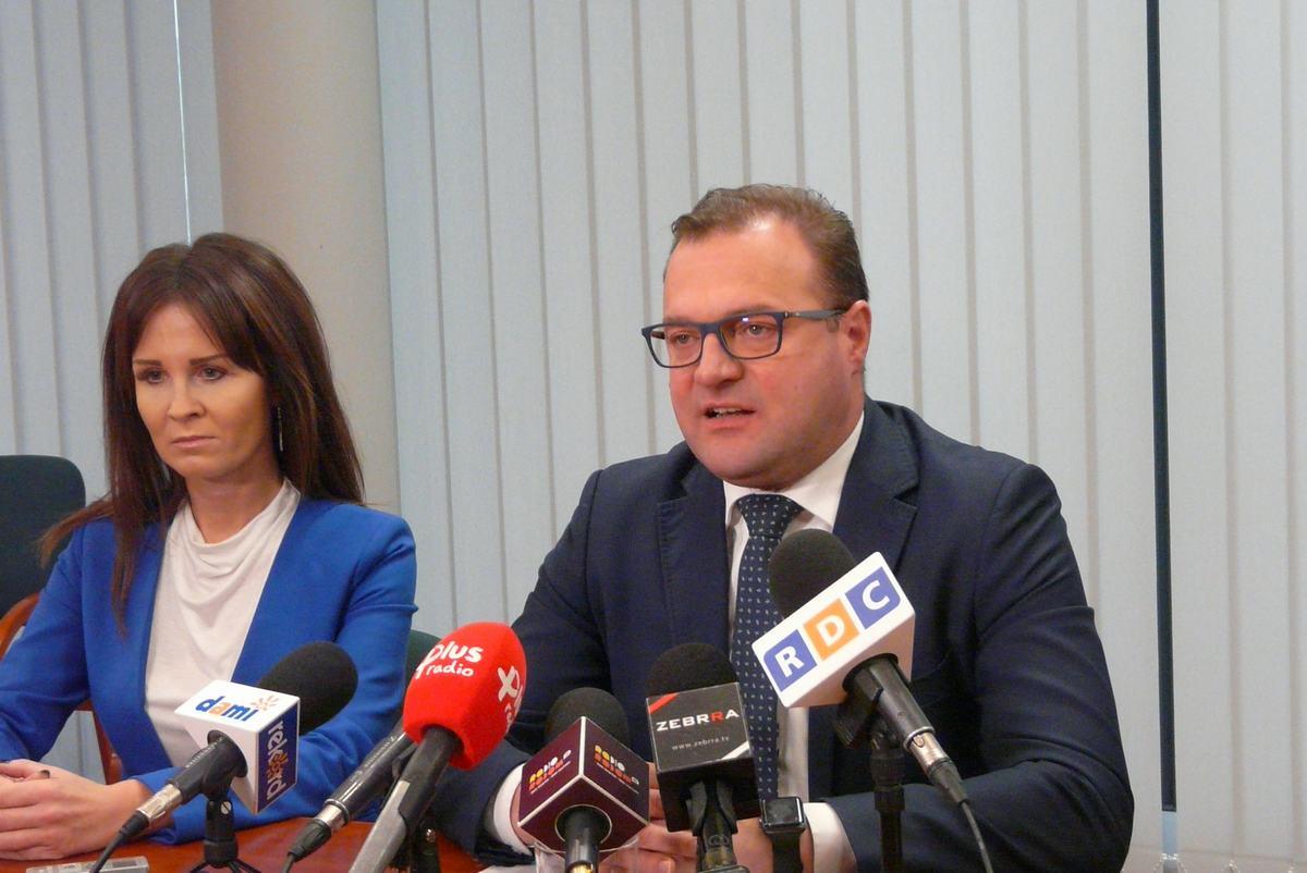 Prezydent Witkowski zaprezentował projekt budżetu w obecności swoich zastępców