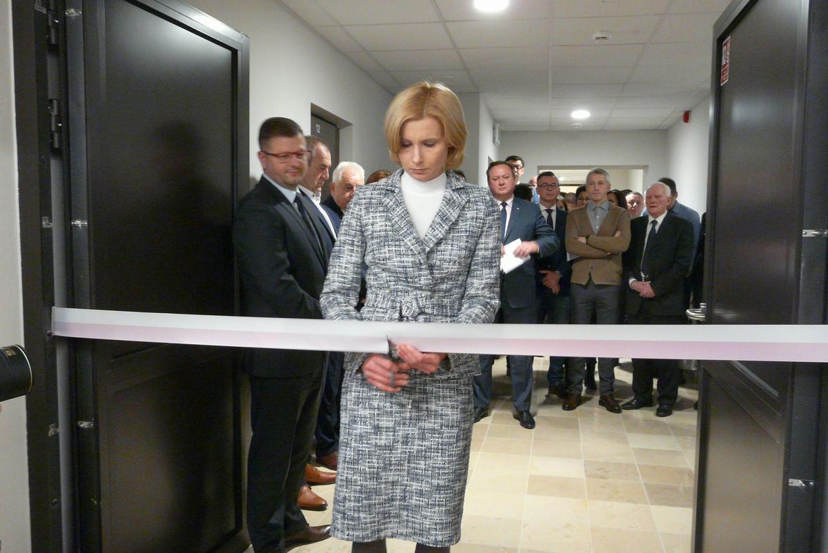 Salę otworzyła przewodnicząca rady Kinga Bogusz