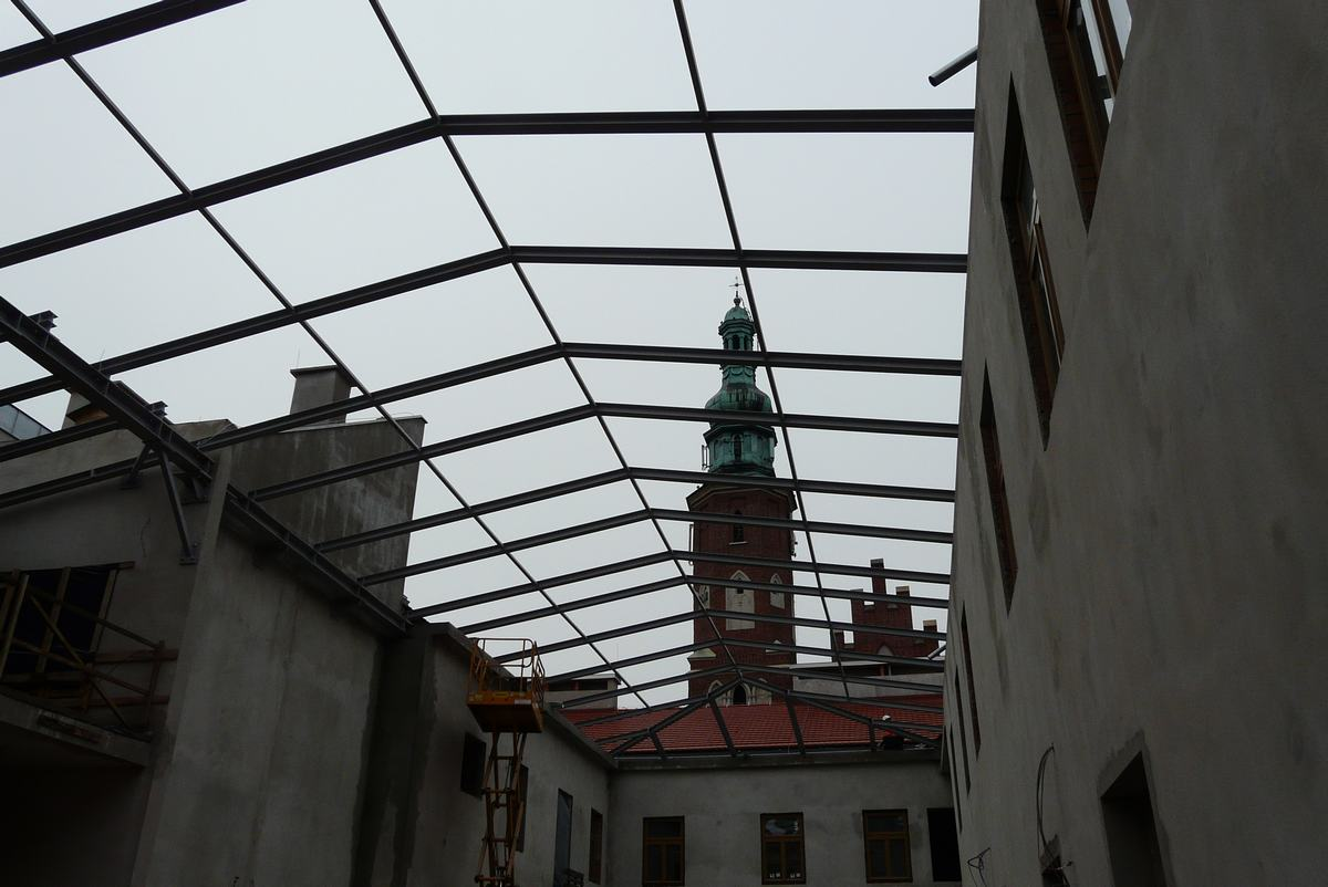 Kamienica Deskurów ma być po rewitalizacji gotowa w połowie roku