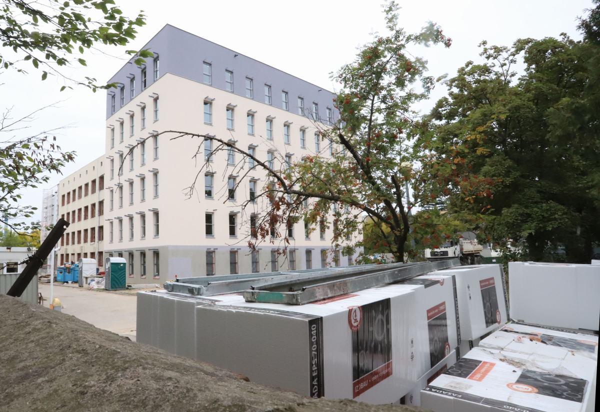 Centrum Rehabilitacji ma być gotowe o około trzy miesiące wcześniej niż planowano