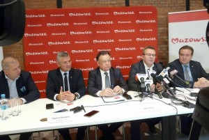 O szczegółach budżetu Mazowsza mówiono podczas konferencji prasowej