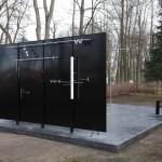 Nowa rzeźba w orońskim parku