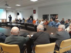 Na spotkanie w urzędzie przyszło kilkanaście osób