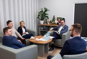 Spotkanie odbyło się w gabinecie prezydenta