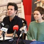 O programie Kazików mówili podczas konferencji prasowej Marcin Kępa z Resursy i Monika Żurek z MDK
