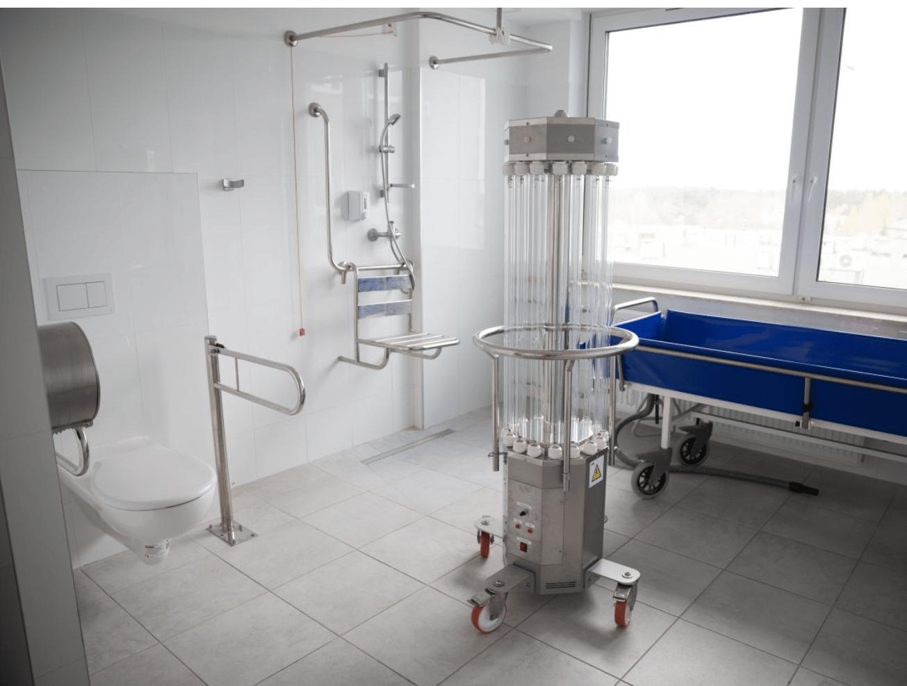Szpital dostał m.in. nowoczesny sprzęt do dezynfekcji