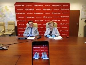 Adam Struzik i Elżbieta Lanc (fot. MUM Warszawa)