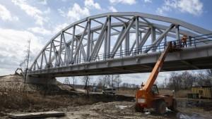 Przebudowa mostu nad Pilicą