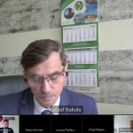 Dyrektor Bakuła informował radnych zdalnie