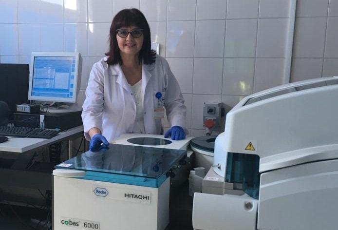 Kierownik Zakładu Diagnostyki Laboratoryjnej MSS dr n. med. Brygida Beck zaprasza na badania