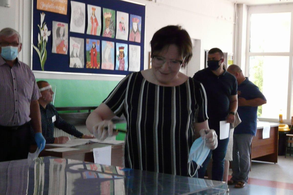 Na Ustroniu głosowała Ewa Kopacz