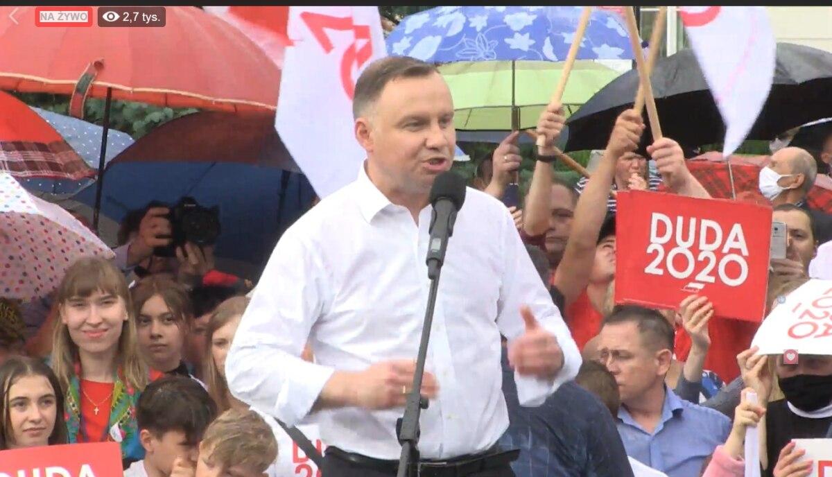 Andrzej Duda osiągnął najlepszy wynik - 41,8 proc.