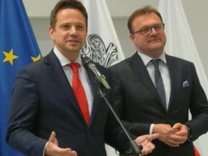 Rafał trzaskowski w Radomiu podczas kampanii wyborczej w 2018 roku (fot. archiwum)